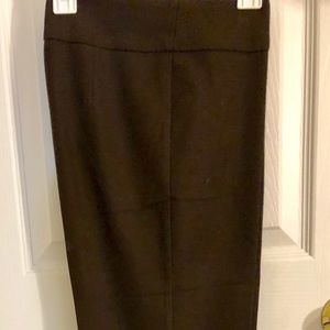 Benetton Long Dark Brown Pants